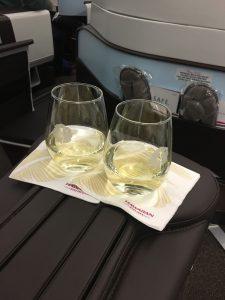 新婚旅行ハワイアン航空ビジネスクラス