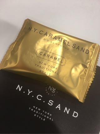 NYキャラメルサンド 金の袋の画像