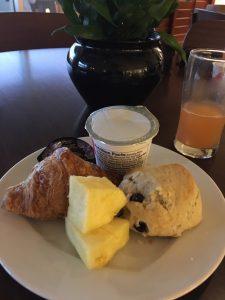 シェラトンワイキキレアヒラウンジの朝食