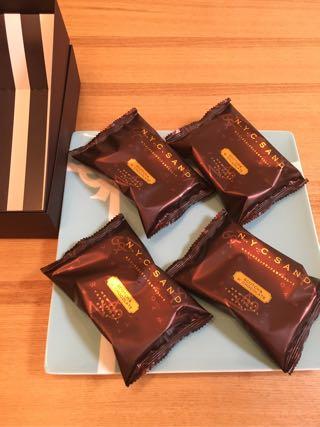 N.Y.リッチスカッチサンド&Wチョコレート(大丸東京限定商品)